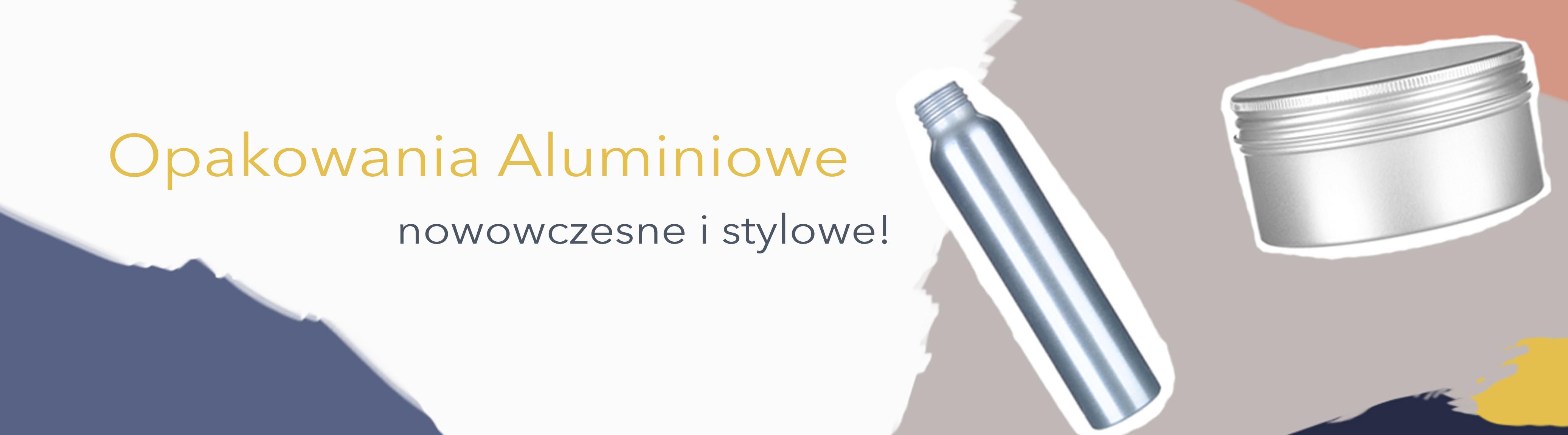 Słoiki aluminiowe, butelki aluminiowe